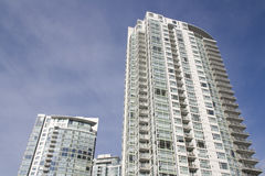 New apartment buildings royalty free stock image