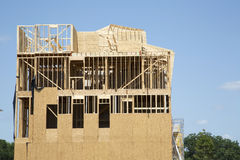 A new apartment construction Royalty Free Stock Photos