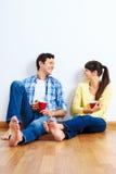 New apartment couple Stock Image