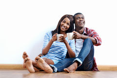 New apartment couple Stock Photo