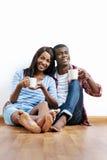 New apartment couple Royalty Free Stock Photos