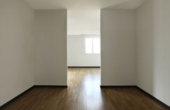 New apartment, empty room Royalty Free Stock Photos