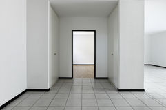 New apartment, empty room Stock Images