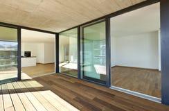 New apartment, veranda Stock Photography