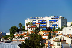 New apartments and old villas in Nice Royalty Free Stock Images