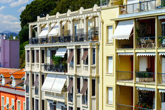 New apartments and old villas in Nice Royalty Free Stock Photography