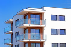New apartments for sale Royalty Free Stock Photos