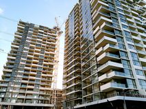 New apartments in Sydney Australia. Newly built off plan apartments are almost ready for settle in Epping, Sydney Australia stock photo