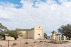 New Apostolic Church in Okahandja Stock Photo