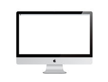 New Apple iMac computer with Retina Display Royalty Free Stock Photos