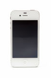 New Apple iPhone 4S. White model Royalty Free Stock Photos