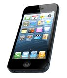 New Apple iPhone 5. Was released for sale by Apple Inc Royalty Free Stock Photo