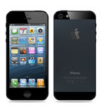 New Apple iPhone 5. Was released for sale by Apple Inc Royalty Free Stock Image