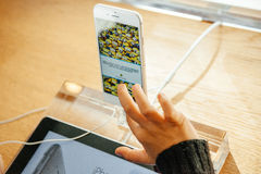 New Apple iPhone 6 and iPhone 6 plus Stock Images