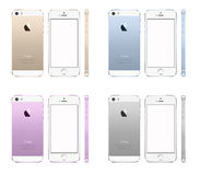 NEW APPLE IPHONE 5S Stock Image