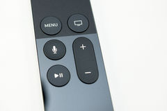 New Apple TV media streaming player microconsole Royalty Free Stock Photography