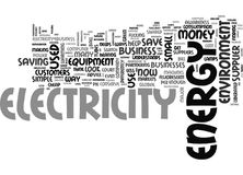 A New Approach To Electricity Can Save Money And The Environment Word Cloud. A NEW APPROACH TO ELECTRICITY CAN SAVE MONEY AND THE ENVIRONMENT TEXT WORD CLOUD Stock Image