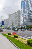 New Arbat Avenue in Moscow Royalty Free Stock Photos