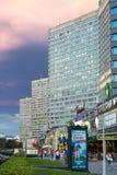 New Arbat Avenue. Moscow. Russia Stock Image