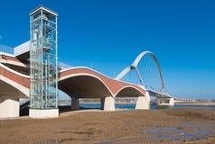 New arch bridge Royalty Free Stock Photos
