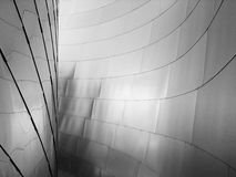 New Architecture Detail. New Architecture in Los Angeles Royalty Free Stock Image