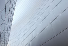 New Architecture Detail Angle. New Architecture in Los Angeles Stock Images