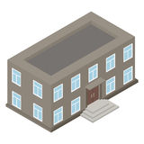 New architecture isometric house Stock Photo