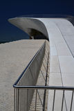 New architecture in Lisbon, Portugal. The MAAT Royalty Free Stock Photography