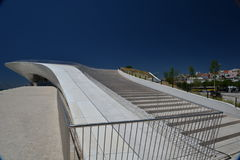 New architecture in Lisbon, Portugal. The MAAT Stock Photography