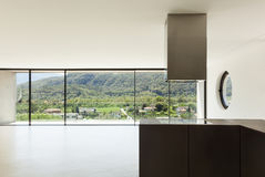 New architecture, modern kitchen Stock Photos