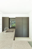 New architecture, modern kitchen Royalty Free Stock Photography