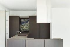 New architecture, modern kitchen Stock Photo