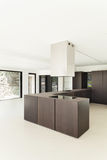 New architecture, modern kitchen Royalty Free Stock Image