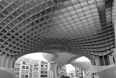 new architectures in the ancient center of Seville in Andalucia spain Stock Photos
