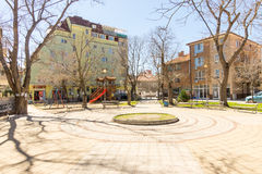 New area in the old Pomorie, Bulgaria Stock Photos