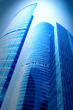 New area of skyscrapers Royalty Free Stock Image