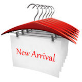 New arrival clothing fashion concept Royalty Free Stock Photography