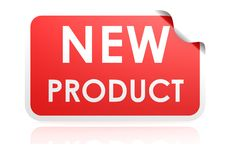 New arrival sticker Stock Photography