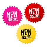 New Arrival Stickers Royalty Free Stock Image