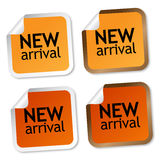 New arrival stickers Stock Images