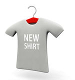New arrival t-shirt concept illustration Stock Photo