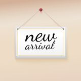 New arrival tag. Stock Photography