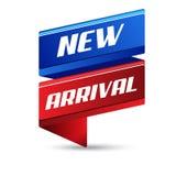 New Arrival Vector Icon Banner Design vector illustration