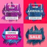 New arrivals concept Royalty Free Stock Images
