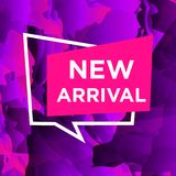 New-Arrivals copy. Sale web banners template for special offers advertisement. Liquid colors within different forms. New arrivals concept for internet stores Royalty Free Stock Photography