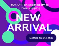 New arrivals Royalty Free Stock Photography
