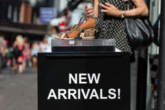 New Arrivals sign Royalty Free Stock Photo