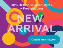 New arrivals Royalty Free Stock Images