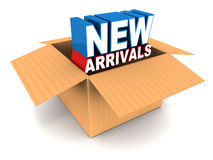 New arrivals Stock Photo