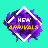 New arrivals web baners. Stock Image